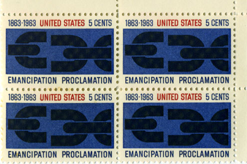 1963 proclamation stamp