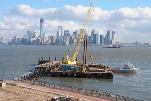 Liberty Island, January 2013