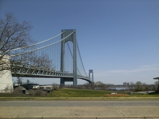 Verrazano Bridge from Staten Island