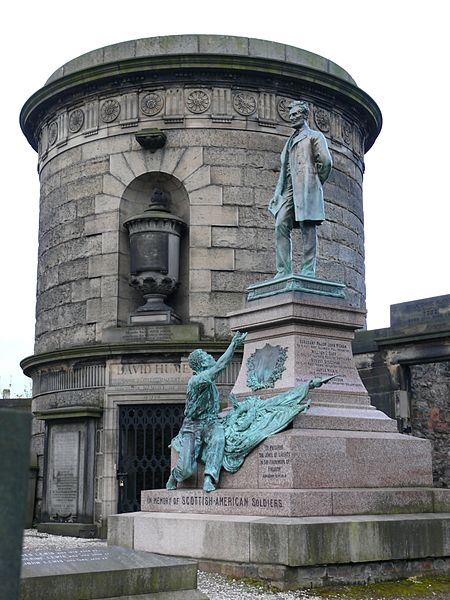 The Scottish – American Soldiers Monument, Edinburgh
