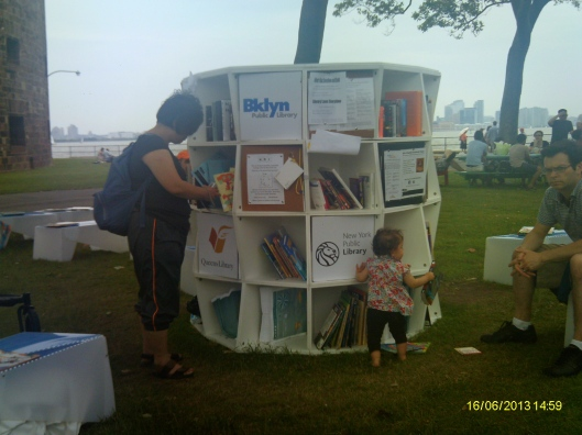 Governors Island Library Lawn, 16 June 2013