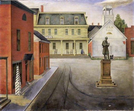 Town Square, by O. Louis Guglielmi