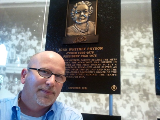 Joan Whitney Payson plaque, Mets Hall of Fame