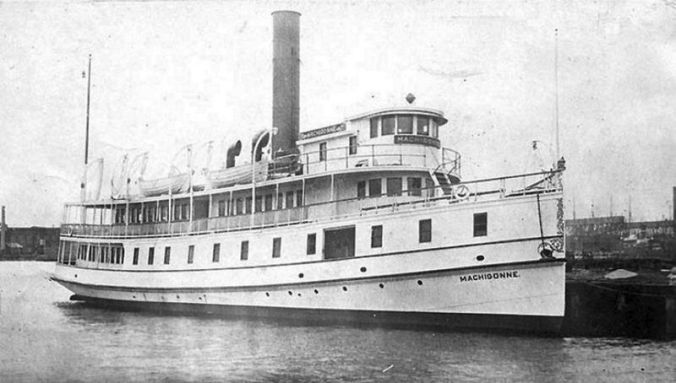 SS Machigonne, later renamed the Yankee