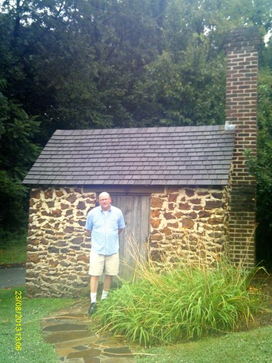Douglass's man cave