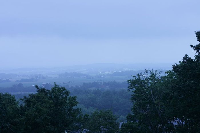 View from St. Joseph's College and Mother Seton Shrine, Emmitsburg, MD