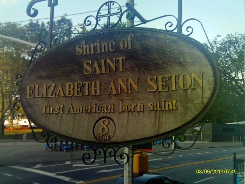 Seton hanging plaque