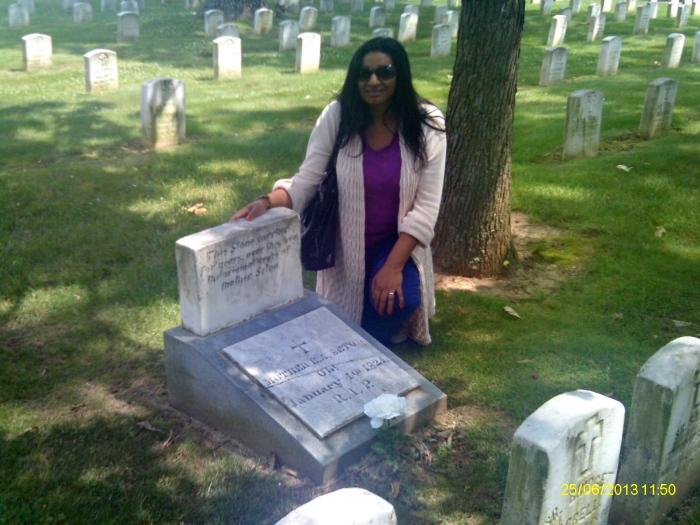 Saint Elizabeth Anne Seton's final resting place, St. Joseph's Cemetery