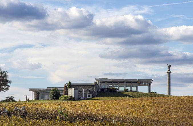 Antietam National Military Park's Mission 66 visitor center