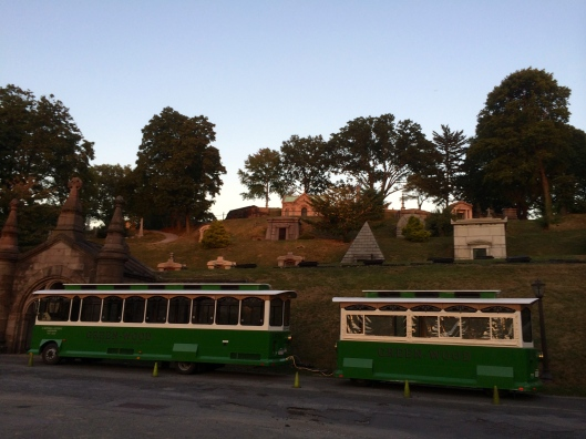 Dusk, Green-Wood Cemetery