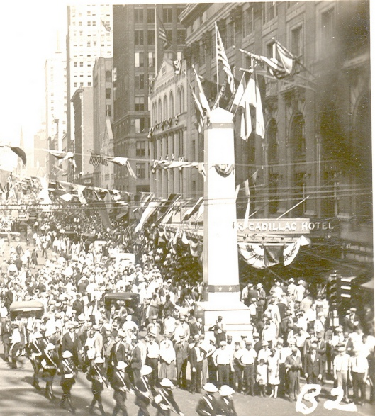 1931 American Legion gathering, Detroit Michigan