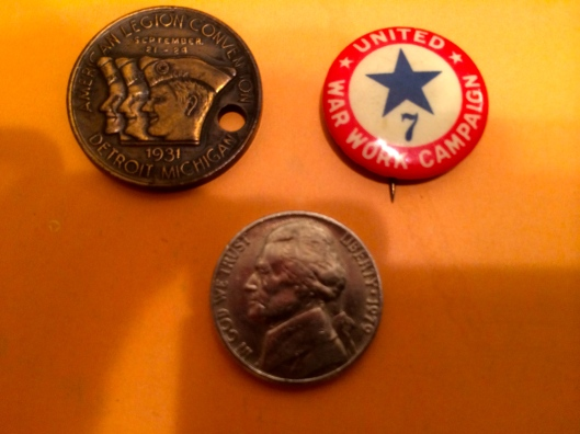 American Legion and War Work tokens