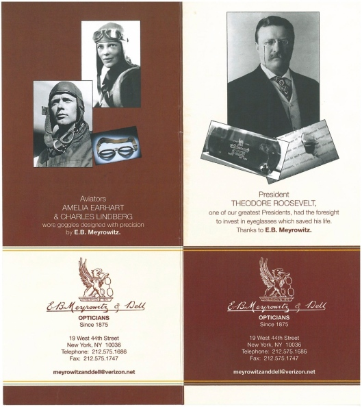 E. B. Meyrowitz & Dell Opticians, since 1875