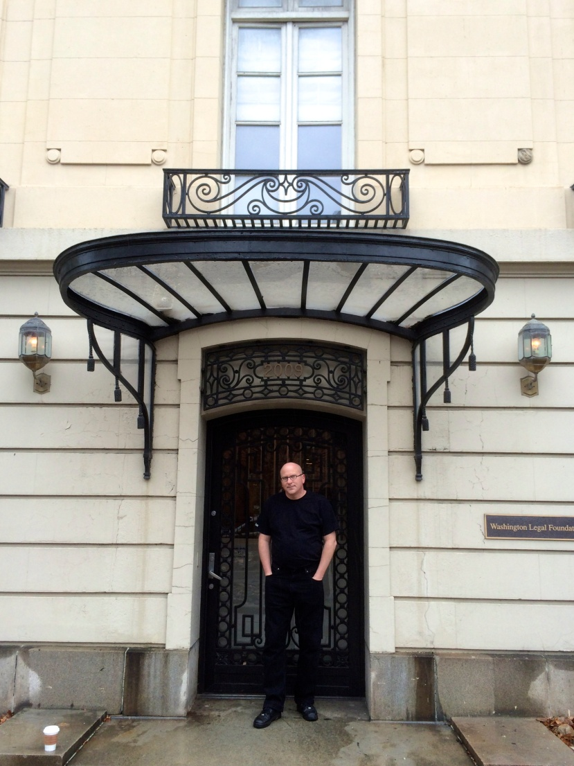 The entranceway of Alice Roosevelt Longworth's Dupont Circle house