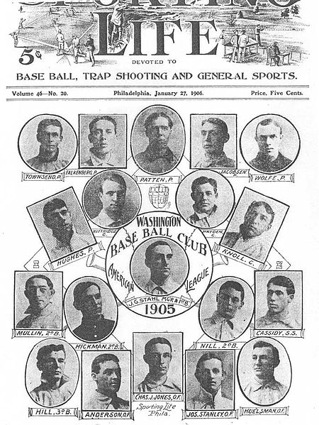 The 1905 Washington Senators