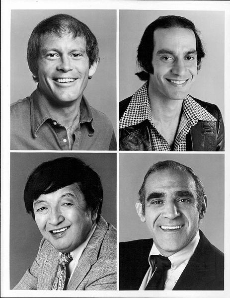 The supporting cast of Barney Miller in a 1975 publicity still