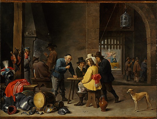 Guardroom with the Deliverance of Saint Peter David Teniers the Younger, ca. 1645–47