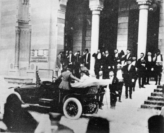 Archduke Ferdinand in Sarajevo, June 1914