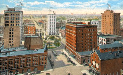 postcard of Youngstown, Ohio, c. 1910