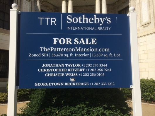 I guess it should not be surprising, but I did not know that Sotheby's sold real estate.