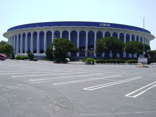The Losa Angeles Forum, where Showtime happened