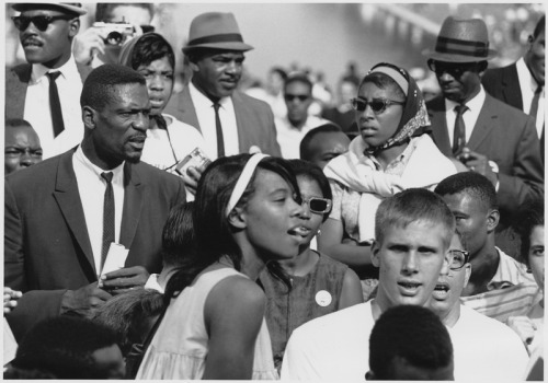 Bill Russell at the March on Washington, 1963