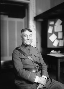 Colonel John Thomas Axton was the Army's first Chief of Chaplains. He is interred today at Arlington National Cemetery.