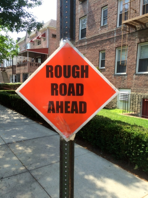 Rough road ahead