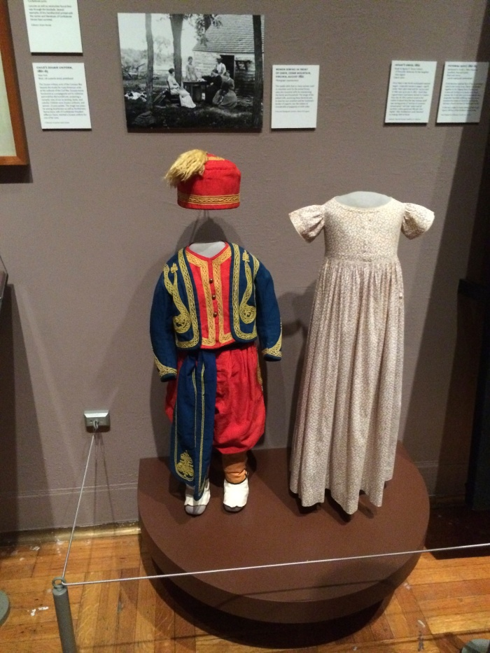 similar Zouave uniform on display at the New-York Historical Society