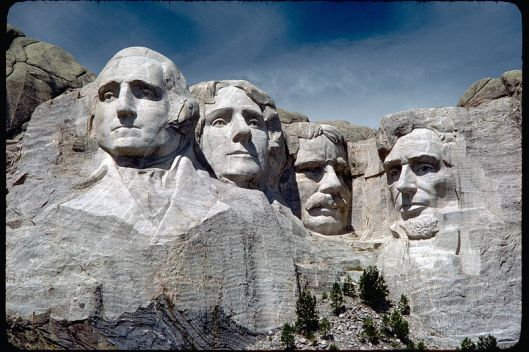 The Mount Rushmore groundbreaking was this week in 1927. Construction was completed in October 1941.