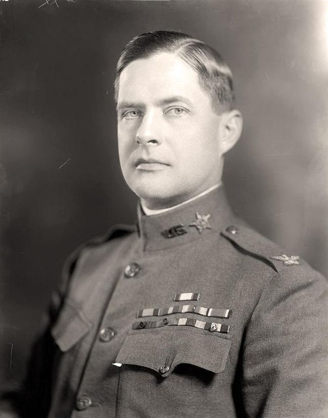Ulysses S. Grand III as a young officer
