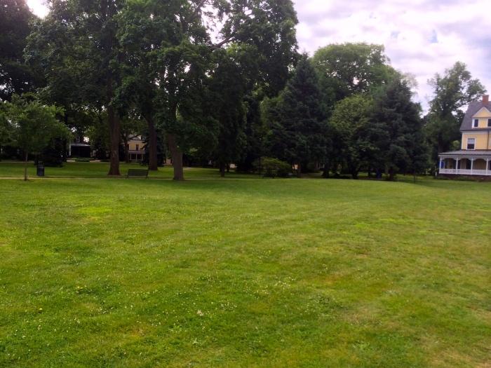 Governors Island's Nolan Park