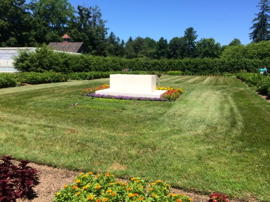 The resting places of Franklin and Eleanor Roosevelt, Hyde Park