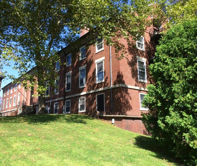 Pershing Hall, rear