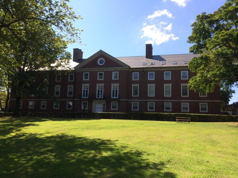 Pershing Hall, front view