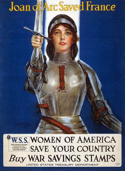 437px-Joan_of_Arc_WWI_lithograph2