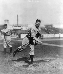 Grover Cleveland Alexander was the ninth inductee and fourth pitcher inducted into the Baseball Hall of Fame