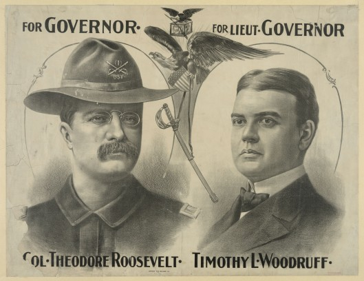 Roosevelt-Woodruff poster (1898)