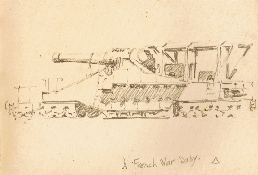#134 Railway Gun