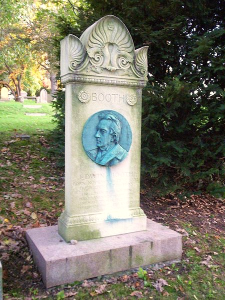 Edwin Booth, 1833-1893