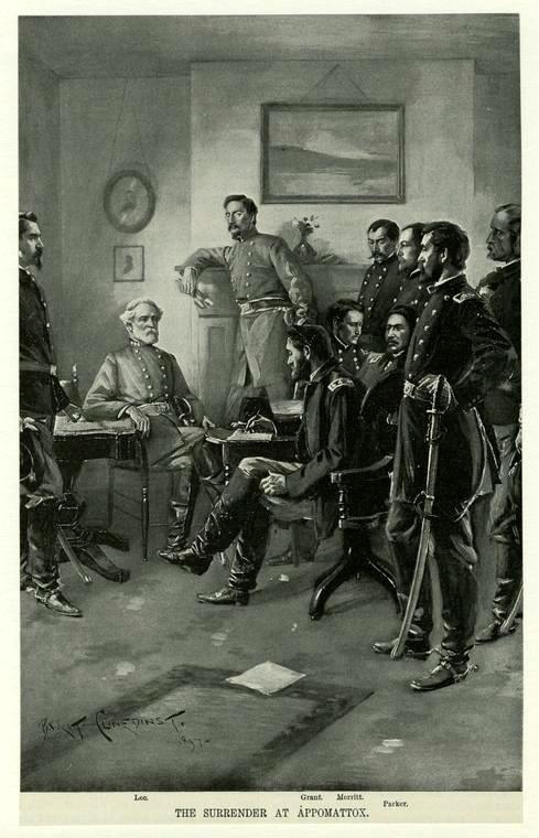 Wesley Merritt's 1897 interpretation of Lee's surrender