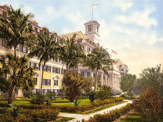 Spot Poles and other ballplayers played for such hotels as the Royal Poinciana