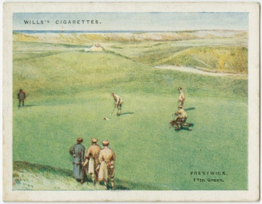 Today no longer part of the Open rotation, Prestwick was the scene of Vardon's 1914 Open victory.