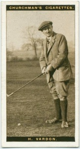 Best known today for the Vardon Grip, the overlapping technique commonly used today, Harry Vardon won six Open Championship prior to the First World War.