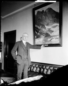 Stephen T. Mather was the National Park Service's first director and guiding voice.