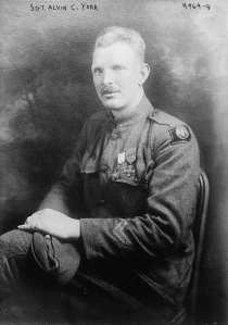 Sergeant York was one of the tens of thousands of doughboys who filled out an MSR reflecting on his experience in the Great War.