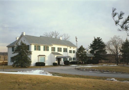 Eisenhower Farm in winter