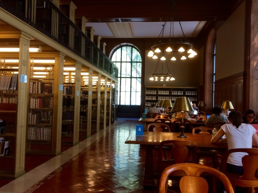Nora Cordingley worked here at the NYPL in the early 1920s before taking a position at Roosevelt House in 1923.