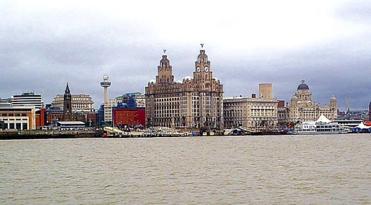 Liverpool (above) was one of Europe's many port cities from which Europeans flocked to the United States prior to the First World War.