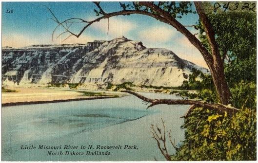 A postcard circa 1930s-1940s